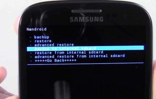 Как сделать Nandroid Backup на