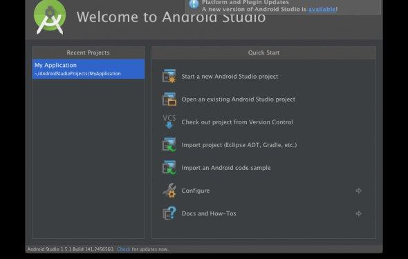 Android Studio 2.0 с более