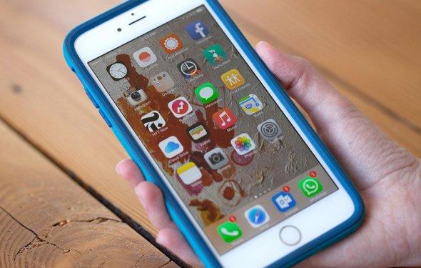 удаление приложений на iOS