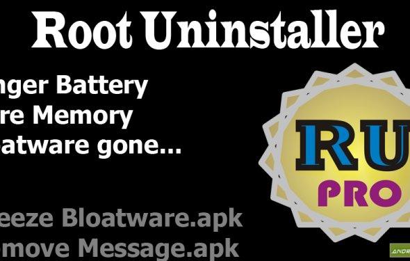 Root Uninstaller – программка