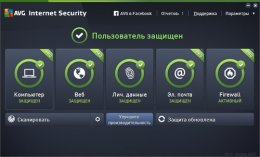 AVG Internet Security 2015 ключ